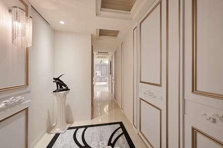 生活、巧思與設計... 我們喜歡撒下驚豔的種子:  走廊 & 玄關 by 趙玲室內設計