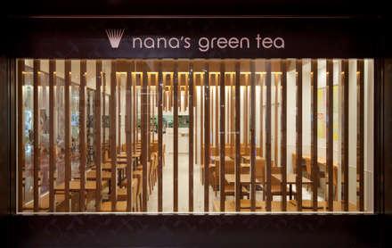 nana's green tea 羽田空港: 株式会社KAMITOPEN一級建築士事務所が手掛けた商業空間です。