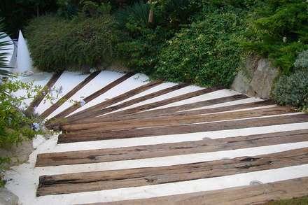 Treppe von Imma Carner Arquitectura Interior
