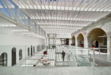 Vista interior atrio: Escuelas de estilo  de Ayaltointegral