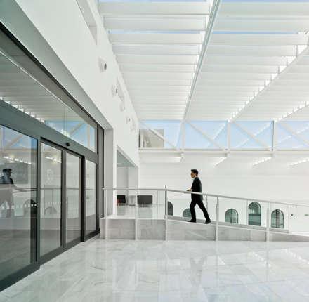 Rampa interior atrio.: Escuelas de estilo  de Ayaltointegral