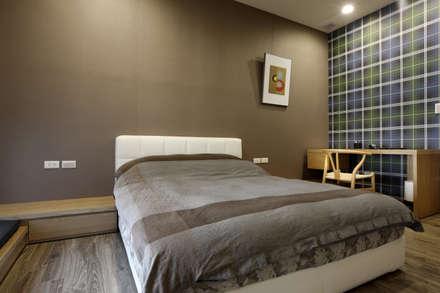 moderne Schlafzimmer von 築采設計 - Leve Interior Architects
