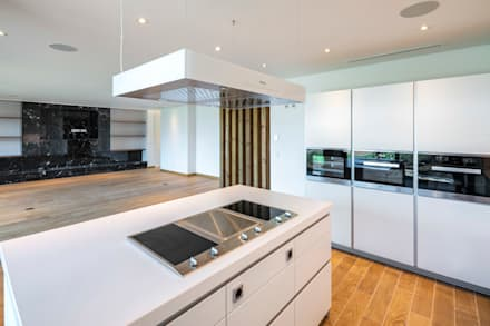Dunas: Cozinhas modernas por Hi-cam Portugal