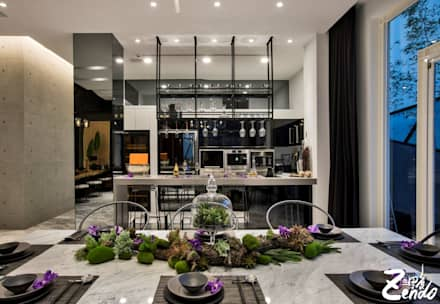 轉角的祕境:  廚房 by Zendo 深度空間設計
