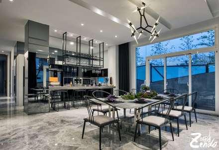 轉角的祕境:  餐廳 by Zendo 深度空間設計