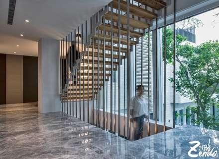 轉角的祕境:  樓梯 by Zendo 深度空間設計