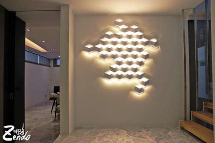 轉角的祕境:  牆面 by Zendo 深度空間設計