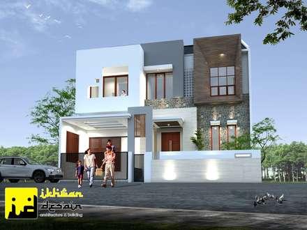 Desain rumah :  Rumah tinggal  by Ikhwan desain