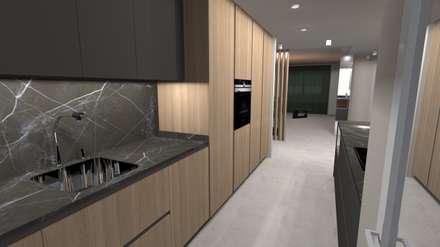 REFORMA INTEGRAL: Módulos de cocina de estilo  de Cid interiores