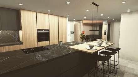 REFORMAINTEGRAL: Módulos de cocina de estilo  de Cid interiores