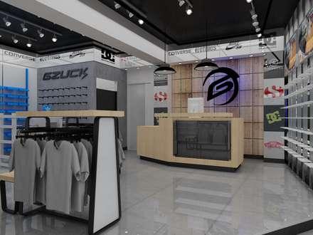 مراكز تسوق/ مولات تنفيذ H3A ARQUITECTOS