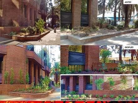 PAISAJISMO DISEÑO DE JARDINES: Jardines de estilo moderno por H3A ARQUITECTOS