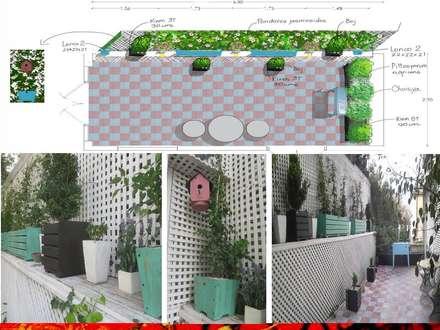 สวนหน้าบ้าน by H3A ARQUITECTOS