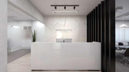Espacios comerciales de estilo  por AOI Arquitetura