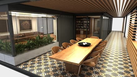 Next Container – Next Container - Jumbo Mix Villa 1 : modern tarz Yemek Odası