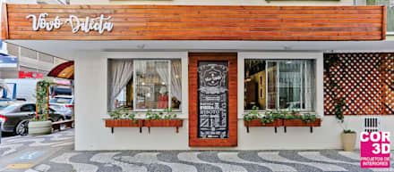 مطاعم تنفيذ Cor3D Projetos de Interiores