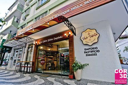 Nhà hàng by Cor3D Projetos de Interiores