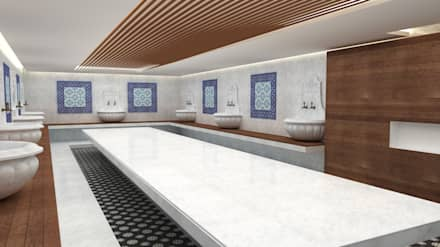 Baños Turcos de estilo  por Next Container