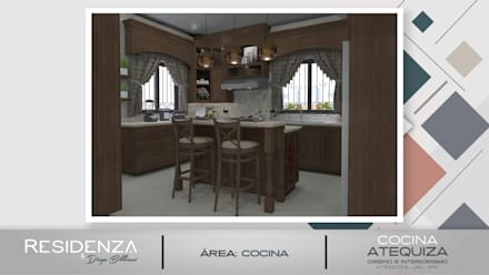 Built-in kitchens by Residenza by Diego Bibbiani