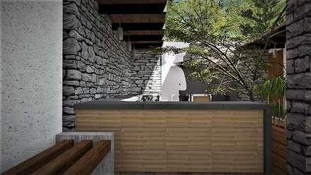 منزل ريفي تنفيذ ARGAL Arquitectura-Arte-Diseño
