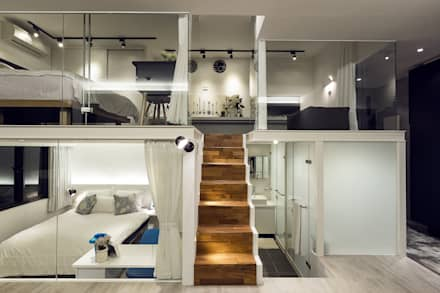 透。劇 分享小品:  樓梯 by 文儀室內裝修設計有限公司