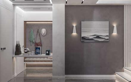 Дизайн-проект квартиры на ЮБК: Коридор и прихожая в . Автор – Фирма Крымпроектстрой