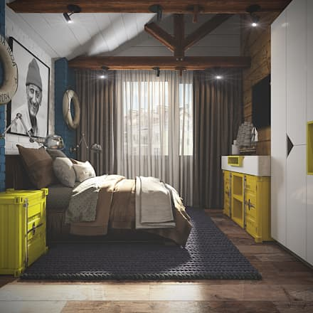 Boys Bedroom by Diveev_studio#ZI