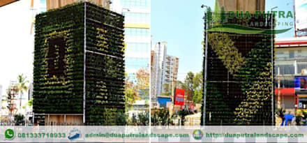 Vertical Garden Jakarta:  Taman by Dua Putra Landscape