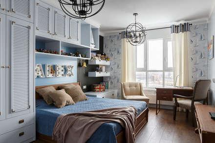 ห้องนอนเด็ก by Дизайн элитного жилья | Студия Дизайн-Холл