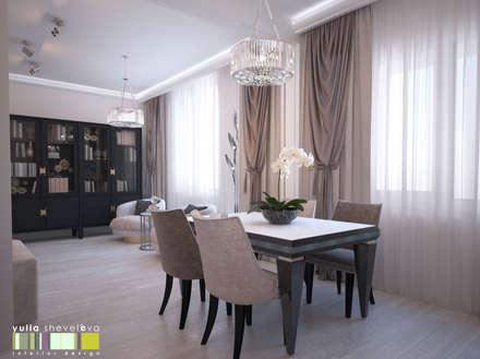 Аромат орхидеи: Столовые комнаты в . Автор – Мастерская интерьера Юлии Шевелевой