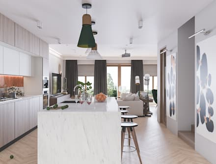 Built-in kitchens by Татьяна Аверкина