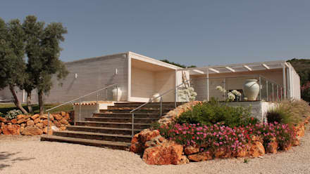 Modelo | T4 412m²: Casas pré-fabricadas  por Discovercasa | Casas de Madeira & Modulares