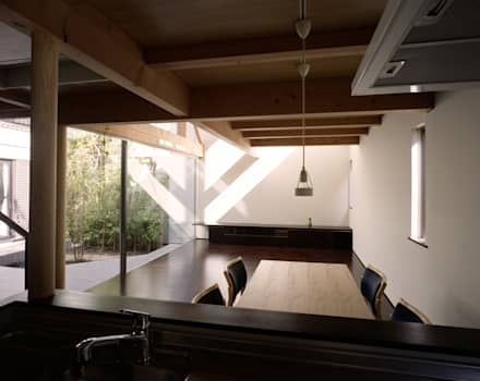 Встроенные кухни в . Автор – 西島正樹/プライム一級建築士事務所