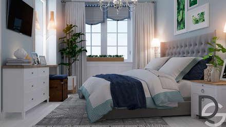 Спальня: Спальни в . Автор – Design Service