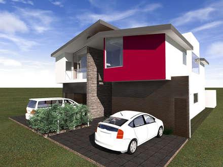 Single family home by Arq. Máximo Alvarado Bravo