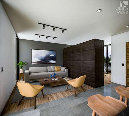 Interior: Salas de estilo minimalista por Villalba Palau Arquitectos