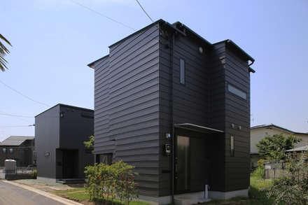 منازل التراس تنفيذ 西島正樹/プライム一級建築士事務所