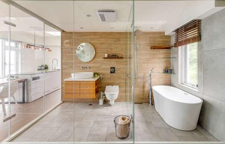 ห้องน้ำ by 御見設計企業有限公司