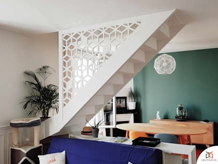 Stairs by Allure et Bois