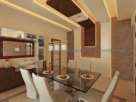 Interior Project: modern Dining room by Inventivearchitects