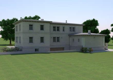 Villa in Tallinn: Villa in stile  di Studio Paoletti