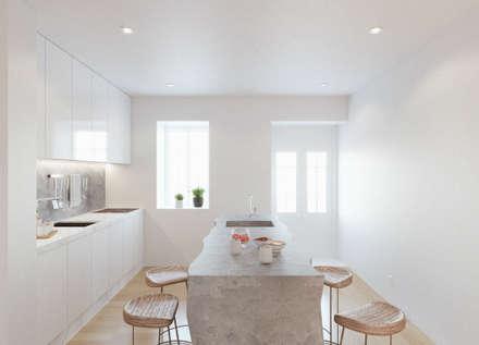 ห้องครัว by Corpo Atelier