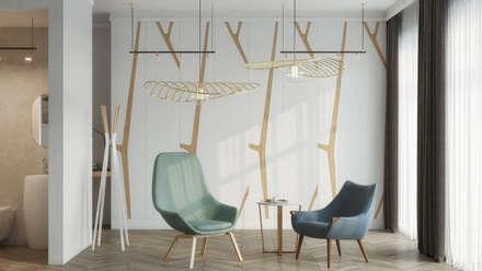 Scandinavian Master Bedroom: Dormitorios de estilo escandinavo de Isabel Gomez Interiors
