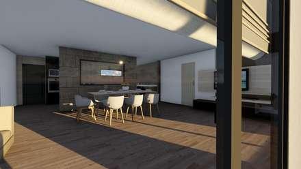 Modelo | T4 167m²: Casas pré-fabricadas  por Discovercasa | Casas de Madeira & Modulares