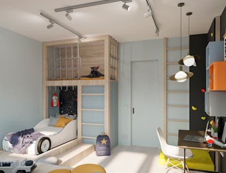 Boys Bedroom by Buro19.1