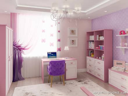 Girls Bedroom by Abryutin Project