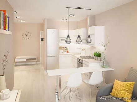 Muebles de cocinas de estilo  por Abryutin Project