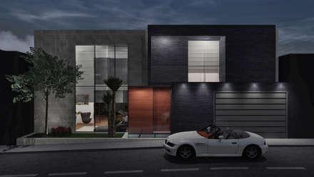 CASA ILO 2018: Casas de estilo minimalista por TECTONICA STUDIO SAC