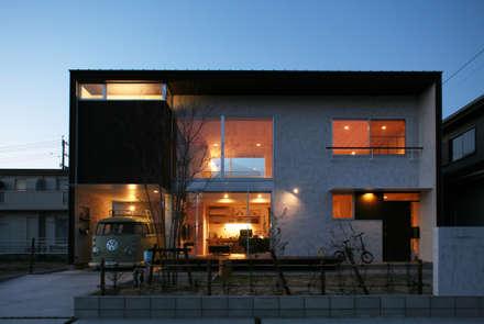 Casas unifamilares de estilo  de kisetsu
