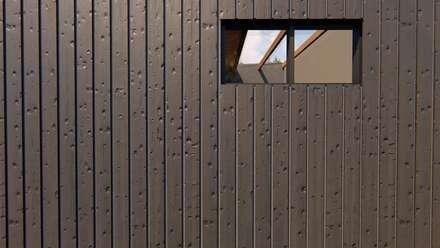 Zoom de materialidad en las paredes: Paredes de estilo  por Tila Design